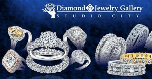 2015, Diamond and Jewelry Gallery, diamond rings, blue banner