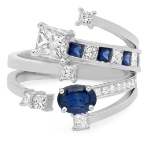 2016, Diamond and Jewelry Gallery, commercial, Tyanna sapphire ring